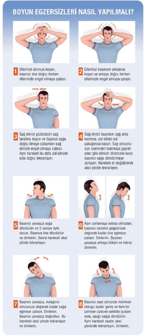 Boyun Egzersizleri